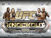 2014 Topps UFC Knockout