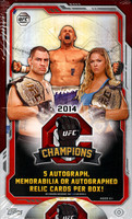 2014 Topps UFC Champions Hobby Box
