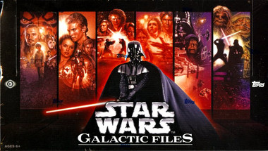 2012 Topps Star Wars Galactic Files Hobby Box