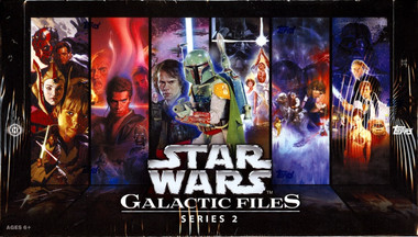 Topps Star Wars Galactic Files Series 2 Hobby Box