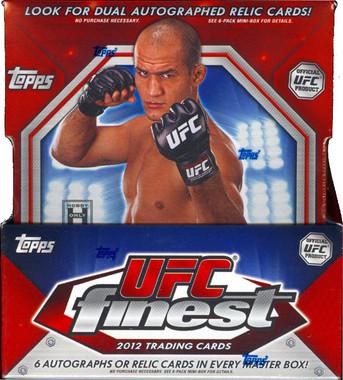 2012 Topps Finest UFC Box