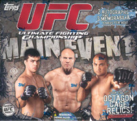 2010 Topps UFC Main Event Hobby Box