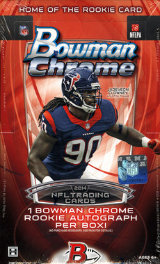 2014 Bowman Chrome Football Hobby Box