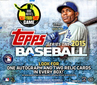 2015 Topps Series 1 Baseball Jumbo HTA Box