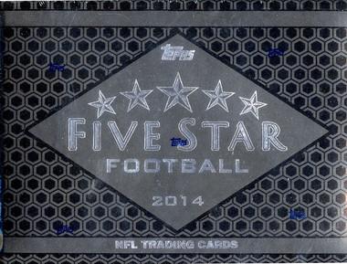 2014 Topps Five Star Football Hobby Box