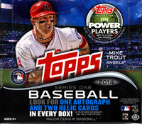2014 Topps Series 1 Baseball Jumbo HTA Box