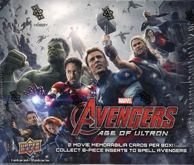 Marvel Avengers 2: Age of Ultron Trading Card Hobby Box (Upper Deck)