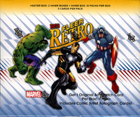 2015 Fleer Retro Marvel Trading Cards Box