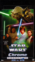 Topps Star Wars Chrome Perspectives: Jedi Vs Sith Box