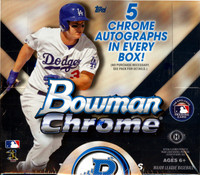2015 Bowman Chrome Baseball Jumbo HTA Hobby Box