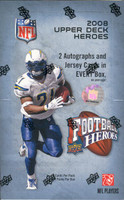 2008 Upper Deck Football Heroes Football Hobby Box