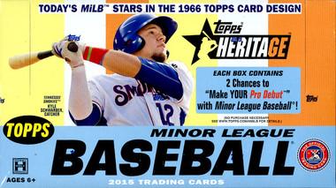 2015 Topps Heritage Minor League Baseball Hobby Box