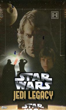 2013 Topps Star Wars Jedi Legacy Hobby Box