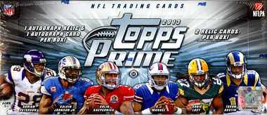 2013 Topps Prime Football Hobby Box
