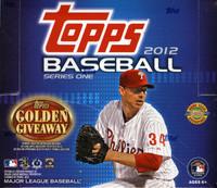 2012 Topps Series 1 Baseball Jumbo HTA Hobby Box