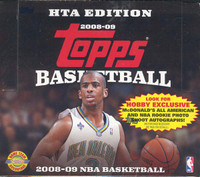 2008/09 Topps Basketball Jumbo HTA Hobby Box