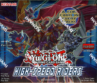 Yugioh High Speed Riders 1st Edition Booster Box