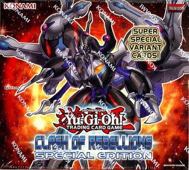 Yugioh Clash Of Rebellions Special Edition Box