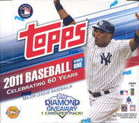 2011 Topps Series 1 Baseball Jumbo HTA Box