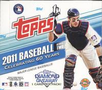 2011 Topps Series 2 Baseball Jumbo HTA Hobby Box