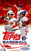 2013 Topps Update Series Baseball Hobby Box