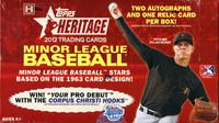2012 Topps Heritage Minor League Ed Baseball Hobby Box