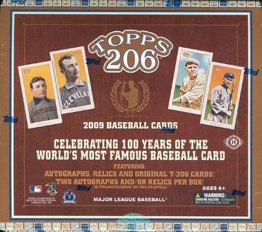 2009 Topps T-206 100th Anniversary Ed Baseball Hobby Box