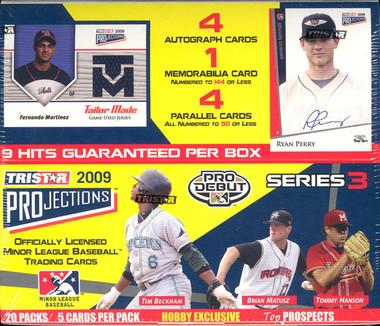 2009 Tristar Projections Series 3 Baseball Hobby Box