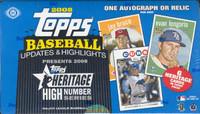2008 Topps Heritage High Number Ed. Baseball Hobby Box
