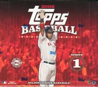 2008 Topps Series 1 Baseball Jumbo HTA Hobby Box