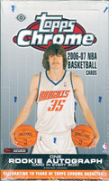 2006/07 Topps Chrome Basketball Hobby Box