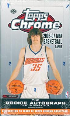 2006/07 Topps Chrome Basketball Hobby Box