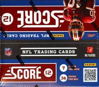 2012 Score Football Box
