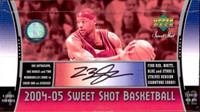 2004/05 Upper Deck Sweet Shot Basketball Hobby Box