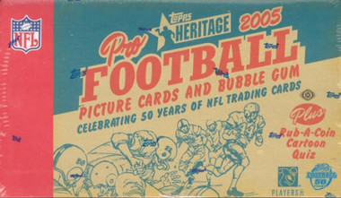 2005 Topps Heritage Football Hobby Box