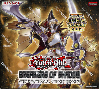 Yugioh Breakers of Shadow Special Edition Box