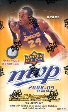 2008/09 Upper Deck MVP Basketball Hobby Box