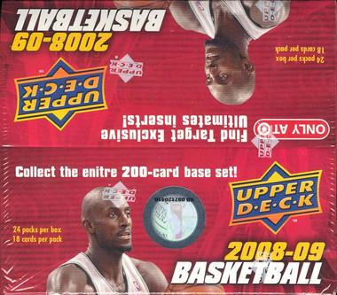 2008/09 Upper Deck Basketball Retail Box
