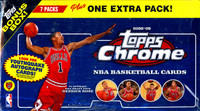 2008/09 Topps Chrome Basketball Blaster Box