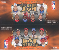 2008/09 Fleer Hot Prospects Basketball Retail Box