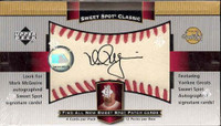 2003 Upper Deck Sweet Spot Classic Baseball