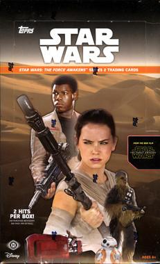 2016 Topps Star Wars The Force Awakens Ser 2 Hobby Box