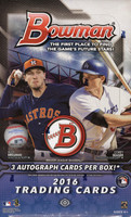 2016 Bowman Baseball Jumbo HTA Hobby Box