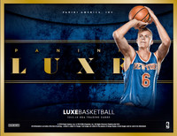 2015/16 Panini LUXE Basketball Hobby Box
