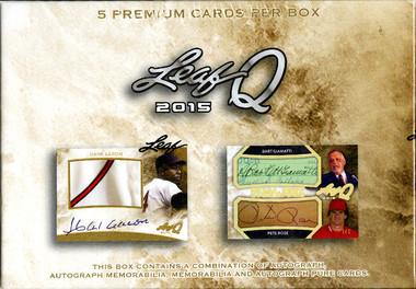 2015 Leaf Q Hobby Box