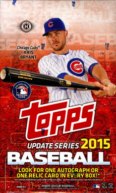 2015 Topps Update Series Baseball Hobby Box