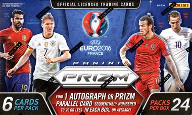 2016 Panini UEFA Euro Prizm Soccer Hobby Box