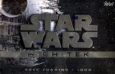 2015 Topps Star Wars High Tek Hobby Box