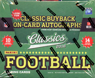 2016 Panini Classics Football Hobby Box