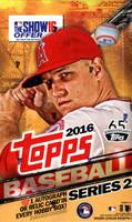 2016 Topps Series 2 Baseball Hobby Box